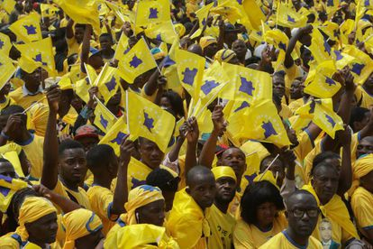 Partidários do oposicionista Abel Chivukuvuku