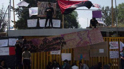 Greve estudantil contra os casos de assédio