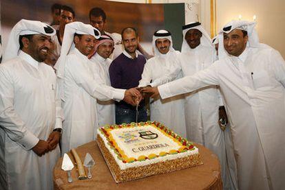 Cardiola viaja a Qatar para promover la candidatura del país a albergar la Copa del Mundo 2022.