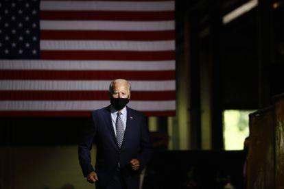 Biden durante ato de campanha na Pensilvânia no dia 9.