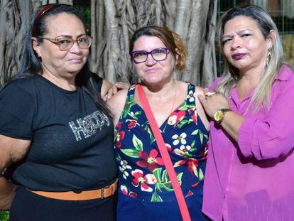 Silvia, Edna e Maria não se conheciam e hoje lutam juntas pela defesa da memória dos filhos mortos pelo Estado.