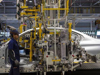 Fábrica da BMW en San Luis Potosí, no México.