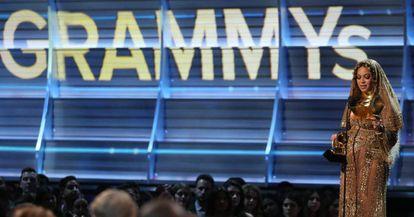 Beyoncé, ao receber o prêmio.