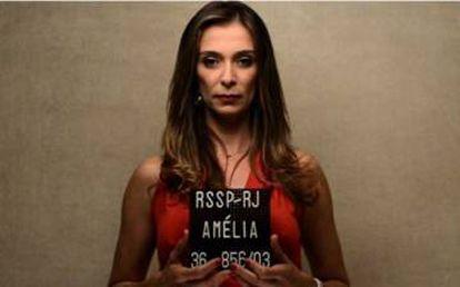 Mônica Martinelli na série 'As Canalhas', exibida no GNT.