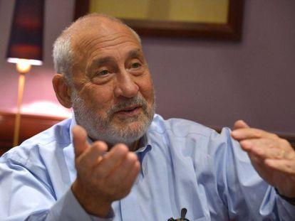 Joseph Stiglitz, em agosto passado numa entrevista em Paris