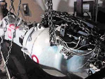 Produto radioativo roubado na segunda-feira no México.