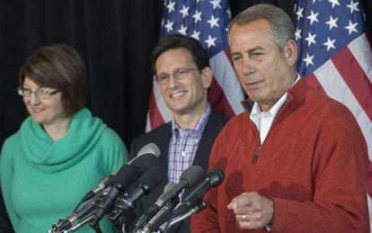 O porta-voz republicano da Câmera de Representantes John Boehner.