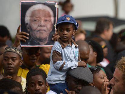 Na festa em honra a Mandela, os políticos não contam