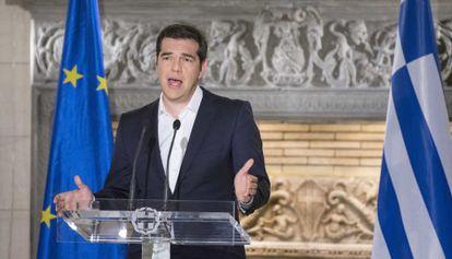 Tsipras se dirige aos gregos após referendo.