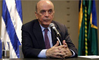 O chanceler José Serra.