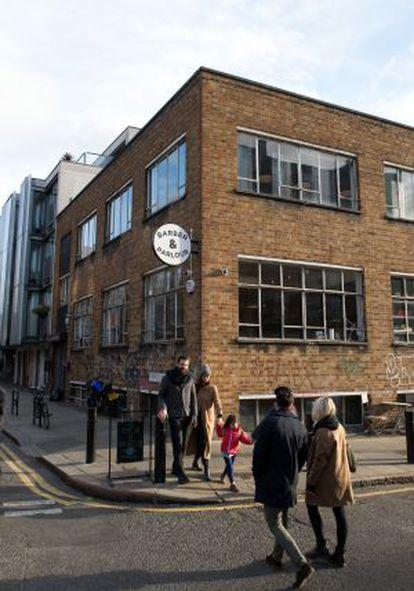 Barber & Parlour, na rua Redchurch, em Londres.
