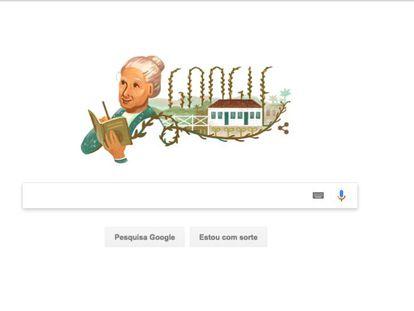 Cora Coralina, a poeta do cerrado, é homenageada pelo Google