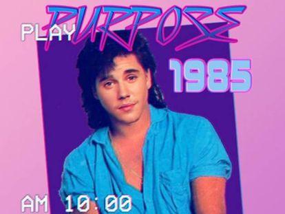 Como seria Justin Bieber se tivesse triunfado nos anos 80
