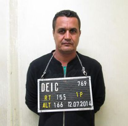Amarildo da Silva, um dos presos em 2014.