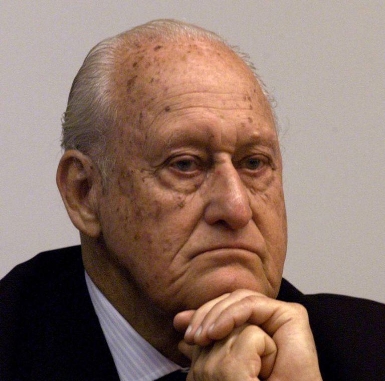 João Havelange, ex-presidente da FIFA.