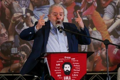 Lula discursa em São Bernardo do Campo nesta quarta-feira, dois dias após o ministro do STF Edson Fachin anular condenações que o levaram à prisão.