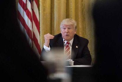 Donald Trump na Casa Branca
