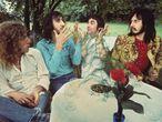 The Who el 15 de juliol del 1971 a Surrey, Anglaterra. D'esquerra a dreta: Roger Daltrey, Pete Townshend, Keith Moon i John Entwistle.
