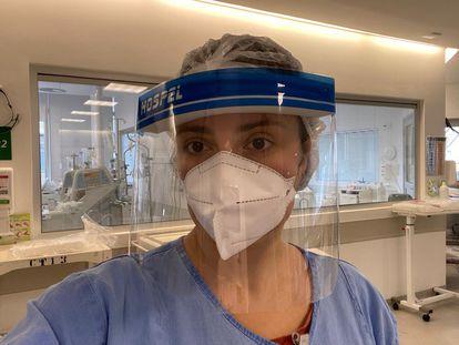 A médica residente do Clínicas Laura Bonetti Kirsch, 29 anos.