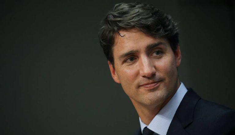 O primeiro-ministro do Canadá, Justin Trudeau, na Assembleia Geral das Nações Unidas.