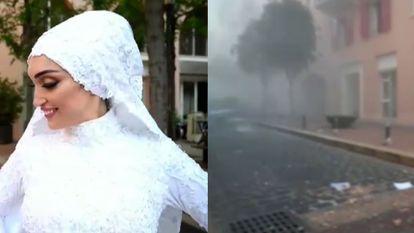 A explosão de Beirute em oito sequências cotidianas