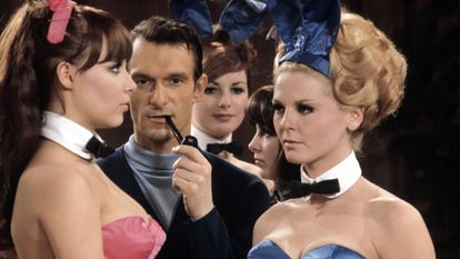 Hugh Hefner, em 1966