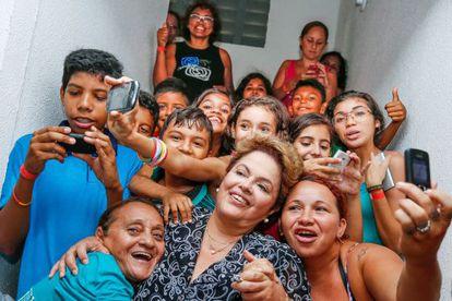 Campanha presidencial de 2014, em Fortaleza.