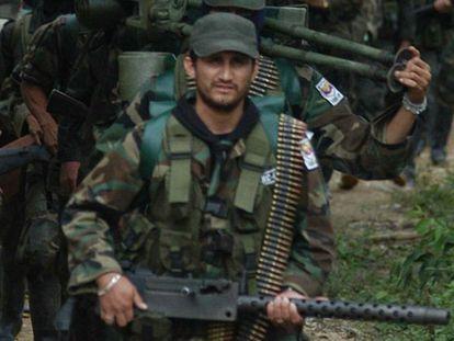 Membros das FARC na Colômbia.