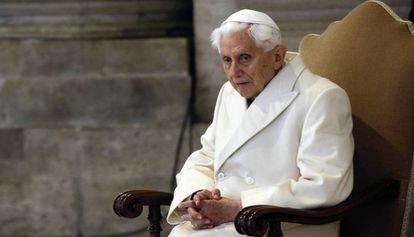 O Papa emérito, Bento XVI, em uma imagem de 2015.