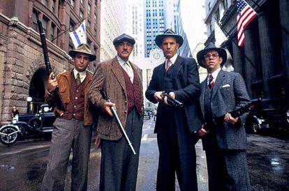 'Os Intocáveis', dirigido por Brian de Palma e interpretado por Andy García, Sean Connery, Kevin Costner y Charles Martin Smith.