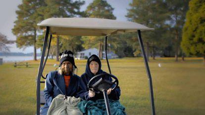 Edith e Eddie, em uma cena do documentário que leva o nome do casal e concorre ao Oscar de melhor documentário curta metragem.