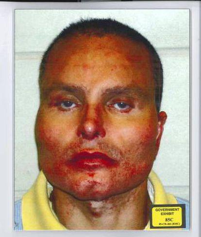 O narcotraficante Juan Carlos Abadia, mais conhecido por Chupeta.