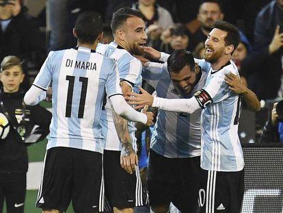 Jogo entre Brasil x Argentina
