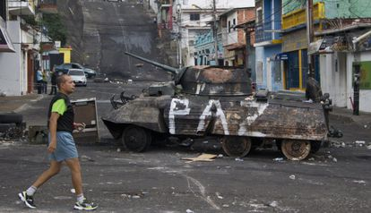 Imagem de San Cristóbal, capital do Estado Táchira.