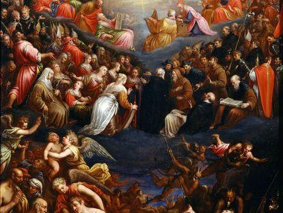 'O Juízo Final', encontrado na coleção do Museu Nacional de Arte Ocidental, em Tóquio.