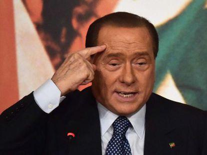 Berlusconi, na última quinta-feira.