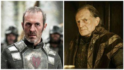Stannis Baratheon e Walder Frey.