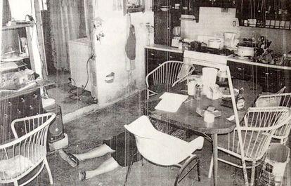 Cena do crime da família de Ciudad Juárez.