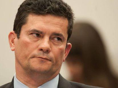 Sergio Moro participa de audiência na Câmara, no dia 2 de julho.