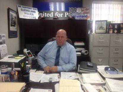 Stephen Loomis, o presidente do sindicato CPPA da polícia de Cleveland