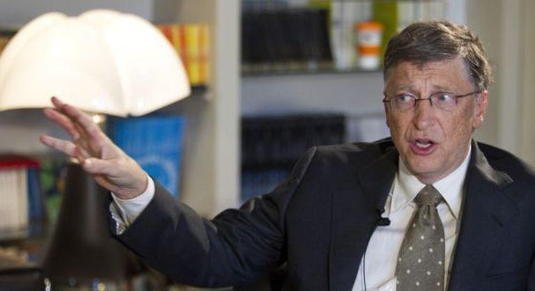 Bill Gates durante uma recente entrevista concedida ao EL PAÍS.
