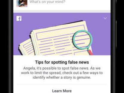 Facebook lança sistema para detectar notícias falsas