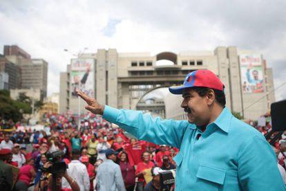 Nicolás Maduro, na última sexta-feira.