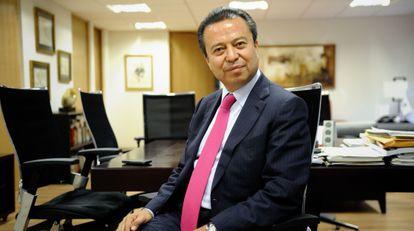 Camacho, o presidente do PRI.