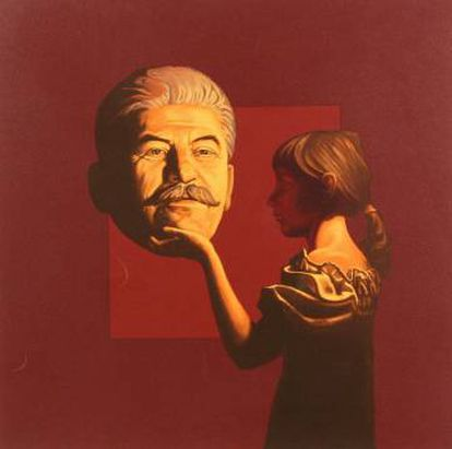 'Girl and Stalin', de Vitalii Komar & Aleksandr Melamid.