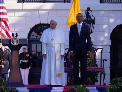 Papa e Obama formalizam aliança sobre ecologia e imigração nos EUA