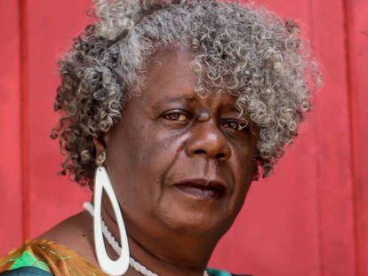 A escritora Conceição Evaristo.