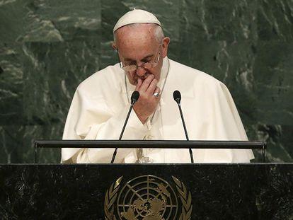 O Papa discursa na ONU.