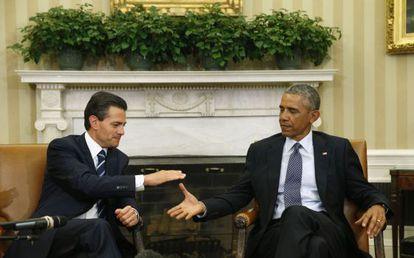 Enrique Peña Nieto e Barack Obama.