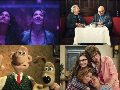 As séries ''Euphoria', 'O Método Kominsky', 'Wallace e Gromit' e 'One Day at a Time'.